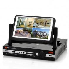 DVR 8 Canale si Monitor de 7'' - H.264 Compresie Video