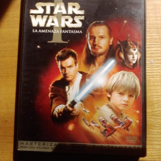 Star WArs 1 -Amenintarea Fantomei - Film SF fox, DVD, Engleza