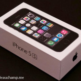 Iphone 5S 16GB Space Gray NOU Sigilat Orange