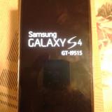 Vand samsung galaxy s 4, s4, I9515, PE NEGRU IN STARE FOARTE BUNA, cutie - Telefon mobil Samsung Galaxy S4, 16GB, Neblocat, Single SIM