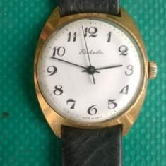 Vand ceas mecanic Raketa, placat cu Aur. - Ceas de mana