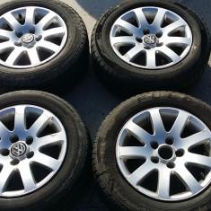 Jante aliaj R15 VW Audi originale - Janta aliaj Volkswagen, Numar prezoane: 5, PCD: 112