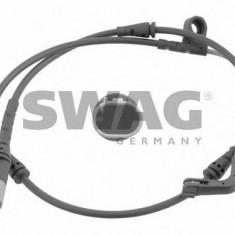 Senzor de avertizare, uzura placute de frana BMW X5 4.8 i xDrive - SWAG 20 93 0611 - Senzor placute