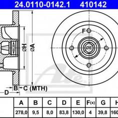 Disc frana VW CAROCHA 1.2 - ATE 24.0110-0142.1 - Discuri frana REINZ