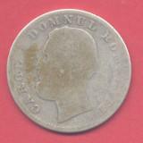 Romania - 1 leu 1870 - moneda rara! - Moneda Romania, An: 1870