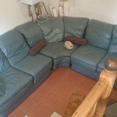 Canapea de piele - coltar