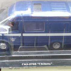 Macheta metal DeAgostini - GAZ 2705 Gazelia - Masini de Legenda Rusia - noua - Macheta auto, 1:43