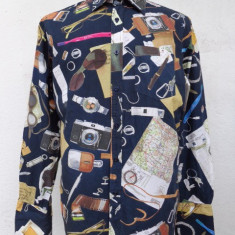 Camasa multicolora Paul Smith originala - Camasa barbati Paul Smith, Marime: L/XL, Maneca lunga