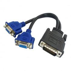 Adaptor DMS-59 Dual-VGA - Cablu PC