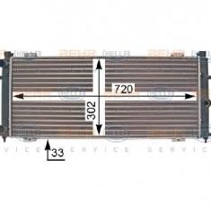 Radiator, racire motor VW TRANSPORTER CARAVELLE Mk IV bus 70XB 70XC 7DB 7DW PRODUCATOR HELLA 8MK 376 707-301