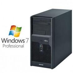 PC Refurbished Fujitsu ESPRIMO P3521 E5800 Win 7 Pro - Sisteme desktop fara monitor