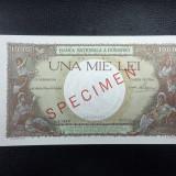 Specimen 1000 lei 1936 UNC Rar!!!!!!