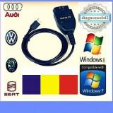 Tester diagnoza auto VAG.COM VCDS 15.7 in limba Romana, maghiara, engleza - Interfata diagnoza auto