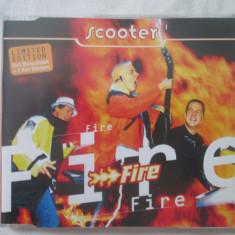 Scooter – Fire _ maxi cd, UK - Muzica House Altele