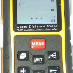 261400-Telemetru laser 40m cu calcul arie si volum Topmaster Profesional