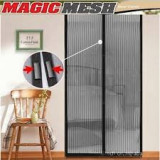 210 x 100 cm PERDEA MINUNE PLASA ANTI INSECTE TANTARI MUSTE MAGIC MESH DUBLA