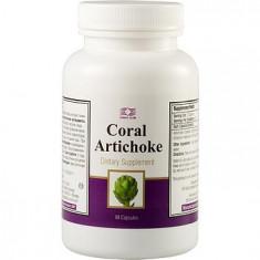 Colier argint - Coral Anghinare (90 capsule) Coral