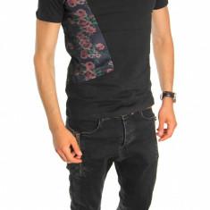 Tricou tip ZARA - tricou barbati - tricou slim fit - tricou fashion - 6560, Marime: L/XL, Culoare: Din imagine