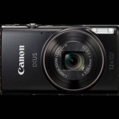 Aparat foto digital Canon IXUS 285HS, ecran 3 inch, 20.2MP, zoom 12x, negru