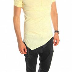 Tricou tip ZARA bleumarin - tricou barbati - tricou slim fit - 6542, Marime: S, L, XL, Culoare: Din imagine