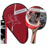 DONIC Set tenis de masa 1 paleta + 3 mingi + husa Top Teams Level 600 - Paleta ping pong