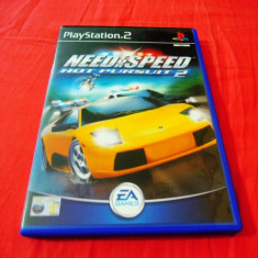 Joc Need For Speed NFS Hot Pursuit 2, PS2, original, alte sute de jocuri! - Jocuri PS2 Ea Games, Curse auto-moto, 3+, Single player