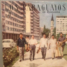 LOS PARAGUAYOS in ROMANIA (EDE 095/ELECTRECORD) - VINIL/IMPECABIL/DISC RAR - Muzica Latino