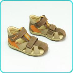 Sandale copii, Baieti, Piele naturala - NOI, DIN PIELE _ Sandale aerisite, comode, calitate SUPERFIT _ baieti | nr. 24