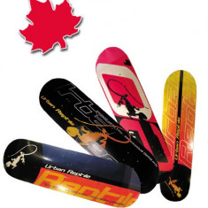 Placa Skateboard WORKER din Artar Canadian dublu concav