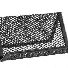 Masina de perforat - Suport carti vizita plasa metalica ErichKrause