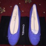 Balerini dama - Balerini Chanel originali 38, 5