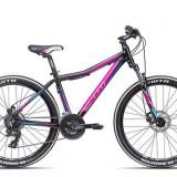 "Bicicleta dama CTM Charisma 2.0, 2016, cadru 18"", negru / mov PB Cod Produs: 037.37"