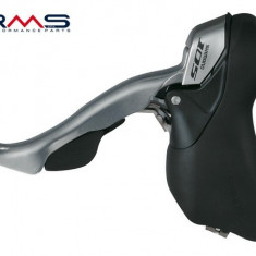 Set manete frana+schimbator Shimano 2x10V 105 ST-5700-S PB Cod Produs: 525322100RM