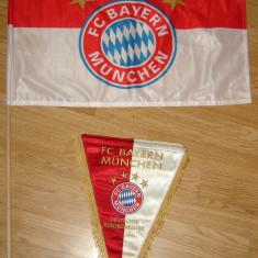 Fanion + Steag FC Bayern Munchen stare f buna - Steag fotbal, De club