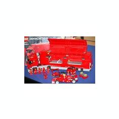Lego 8654 Scuderia Ferrari Truck - LEGO Racers