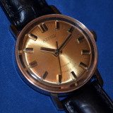 Ceas de mana - CEAS AUR masiv 14K - VOSTOK - Mecanic - Cal 2409A - 1980 - Foarte rar in aur !