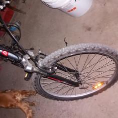 Mountain Bike Pantani, 20 inch, 24 inch - Bicicleta btwin rockrider 6.0 full suspensii