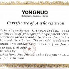 Flash / blitz Yongnuo YN-565 YN 565 II cu TTL pt Canon, garantie 1 an - Blitz dedicat