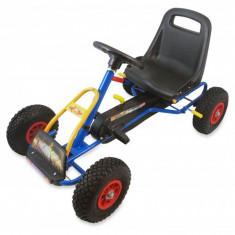 Kart cu pedale model 1 albastru Baby Mix