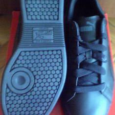 Adidasi Puma Smash 39EU - piele naturala -produs original- IN STOC - Adidasi copii Puma, Culoare: Negru