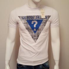 Tricou Guess, model 2016 !!! - Tricou barbati Guess, Marime: XL, XXL, Culoare: Alb