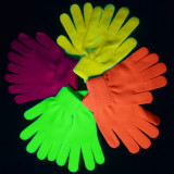 Manusi fluorescente Neon pentru cluburi si petreceri