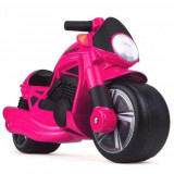 Motocicleta Fara Pedale Wheeler Roz