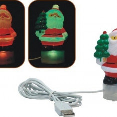 Ornamente Craciun - Mos Craciun USB pentru birou