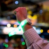 Set bratari LED inteligente cu telecomanda, control jocuri de lumini - Ceas led