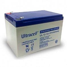 ULTRACELL Acumulator UPS ULTRACELL UL12V12AH, 12V 12Ah