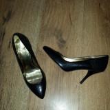 SUPER PRET! Pantofi stiletto TED BAKER originali piele manusa Sz 37 !