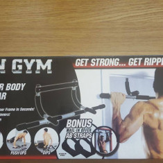 Bara pentru tractiuni- Iron Gym