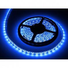 Bec / LED - BANDA LED 5M PROTECTIE IP65 ALBASTRU LED0135-1
