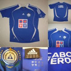 Tricou Fotbal Capul Verde suporter Tricou De colectie nationala - Tricou echipa fotbal, Marime: L, Culoare: Din imagine